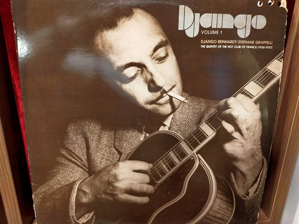 Django Reinhardt / Stephane Grappelli ‎– The Quintet Of The Hot Club Of France (1936-1937) Django Volume 1