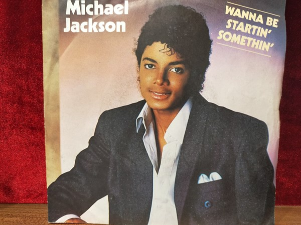 MICHAEL JACKSON - WANNA BE STARTIN' SOMETHIN' / ROCK WITH YOU