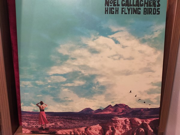 Noel Gallagher's High Flying Birds ‎– Who Built The Moon?