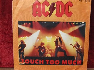 AC / DC - TOUCH TOO MUCH / LIVE WIRE