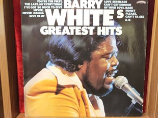 Barry White ‎– Barry Whites Greatest Hits