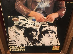 CREAM - I FEEL FREE (İKİNCİ EL)