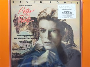 David Bowie Narrates Prokofiev, Eugene Ormandy, The Philadelphia Orchestra, Britten ‎– Peter And The Wolf / Young Person's Guide To The Orchestra