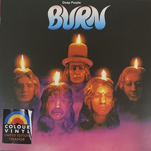 DEEP PURPLE - BURN (LIMITED EDTION ORANGE COLOURED VINYL)