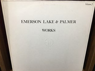 EMERSON LAKE & PALMER - WORKS VOLUME 2  (İKİNCİ EL)