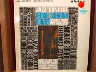 GEORGE SHEARING QUINTET - JAZZ CONCERT