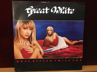 GREAT WHITE - ONCE BITTEN TWICE SHY / SLOW RIDE