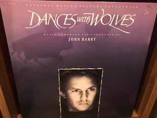 JOHN BARRY - DANCES WITH WOLVES (ORIGINAL MOTION PICTURE SOUNDTRACK) (İKİNCİ EL)