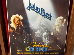 JUDAS PRIEST - JOHNNY BE GOOD / ROCK YOU AROUND THE WORLD (LIVE) / TURBO LOVER (LIVE)