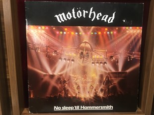 MOTÖR HEAD - NO SLEEP  TIL HAMMERSMITH