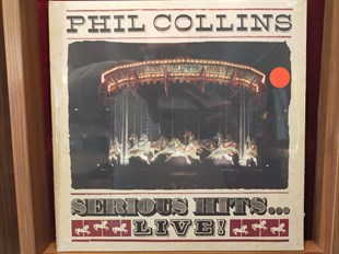 PHIL COLLINS - SERIOUS HITS...LIVE !