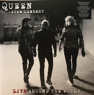 Queen + Adam Lambert ‎– Live Around The World (Black Vinyl)