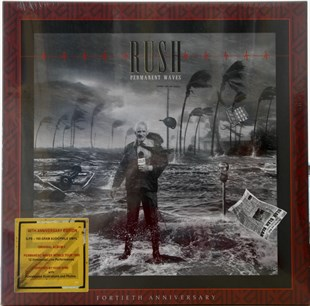 RUSH - PERMANENT WAVES (40th ANNIVERSARY EDITION BOX SET)