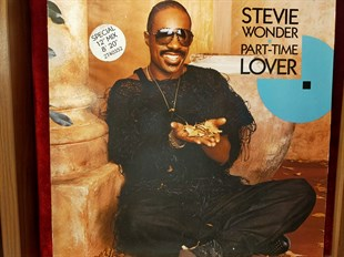 Stevie Wonder ‎– Part-Time Lover