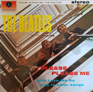 THE BEATLES - PLEASE PLEASE ME WITH LOVE ME DO AND 12 OTHER SONGS