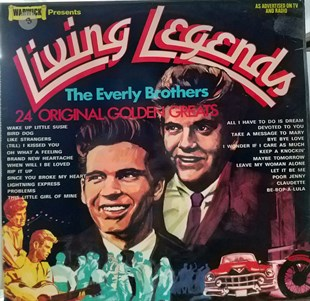 THE EVERLY BROTHERS - LIVING LEGEND