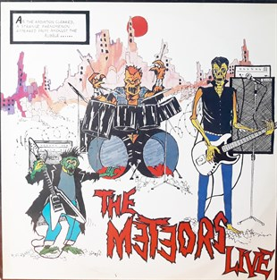 THE METEORS - THE METEORS LIVE
