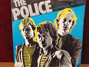 THE POLICE - WALKING ON THE MOON / VISION OF THE NIGHT
